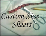 Custom Sheets and Bedding