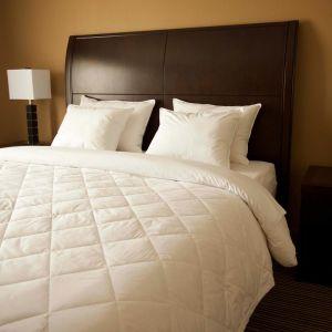 Down Quilted Blanket - Adjustable (WHITE ONLY)