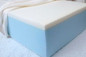 "Memory Foam Topper 2"" - Dorm/Hospital"