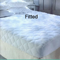 Mattress Pads Anchor Band Contour Fitted Fitted