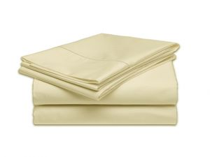 Calif. King Sheet Set - 300tc Ivory